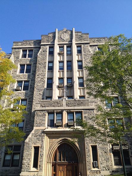 Fordham University Loyola Hall Dormitory Renovation Bronx Ny