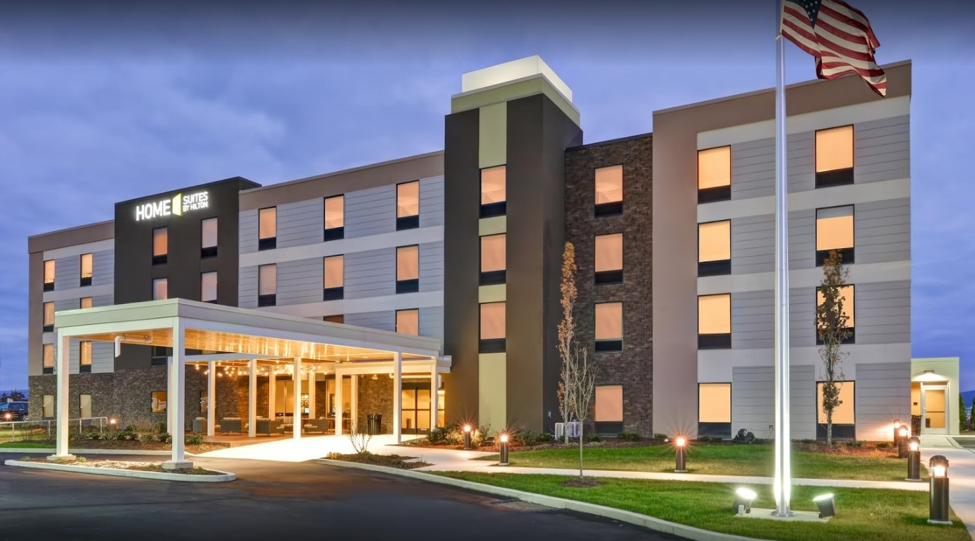 Home 2 suites by hilton dickson city pa reuther bowen for Home two suites